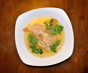 Wonton (Zombie Brain) Soup