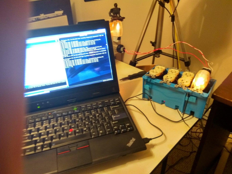 Upload Microcontroller Test