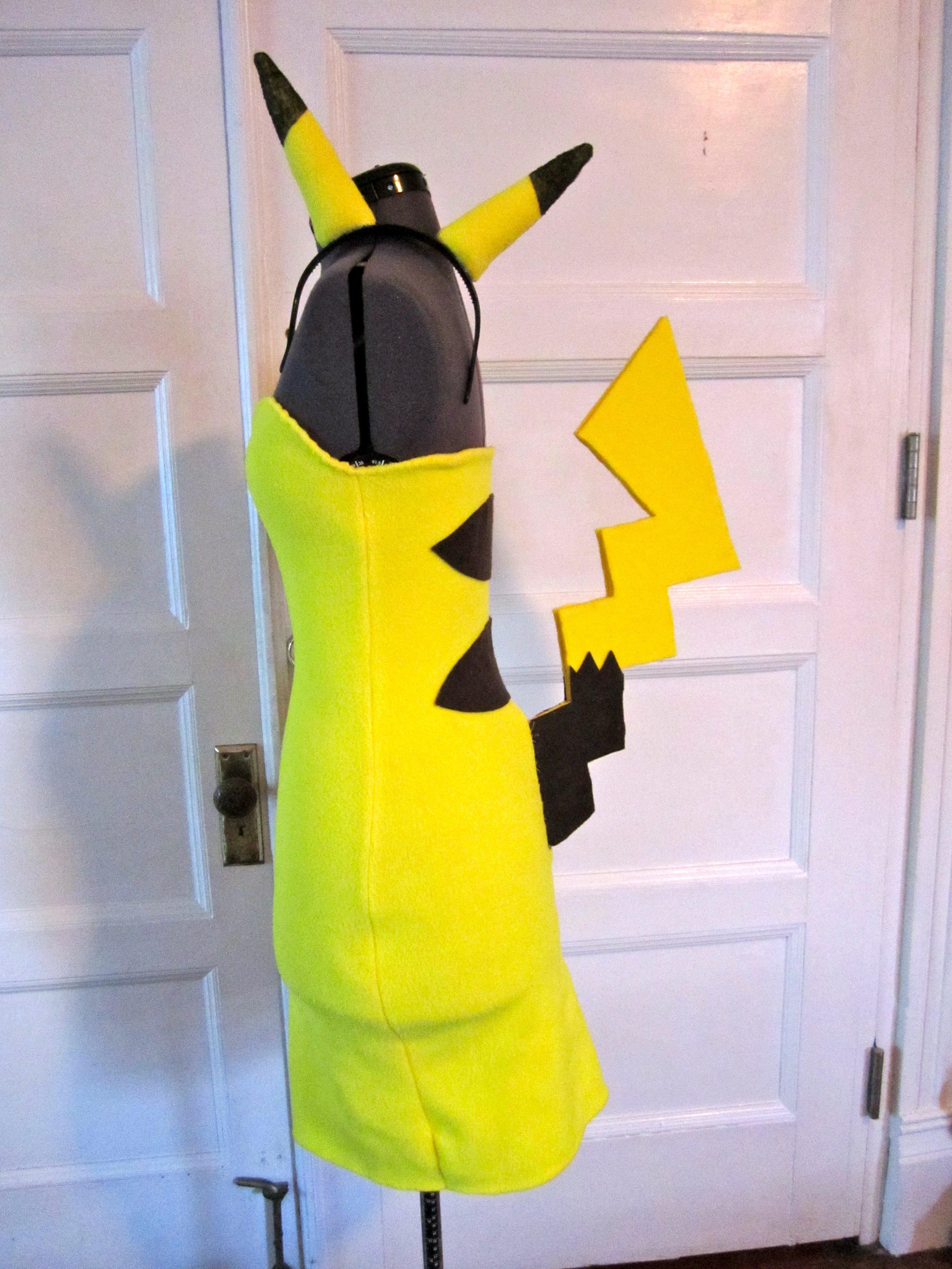 Pikachu costume/cosplay!