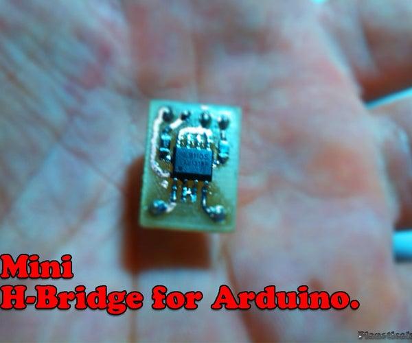 DIY Mini H-Bridge for Arduino