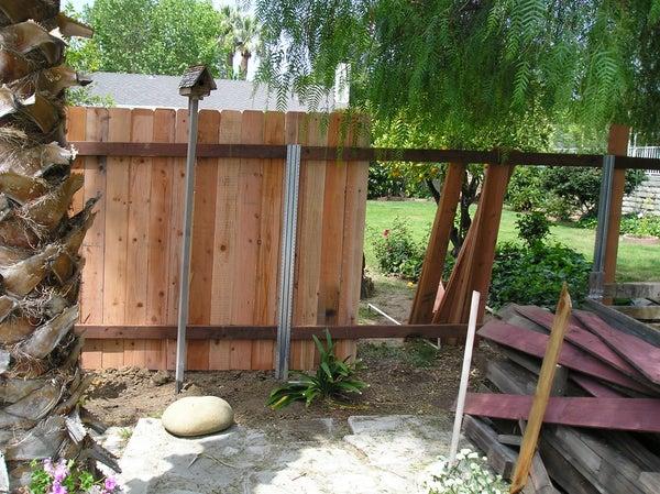 Reuse Old Fence Boards!