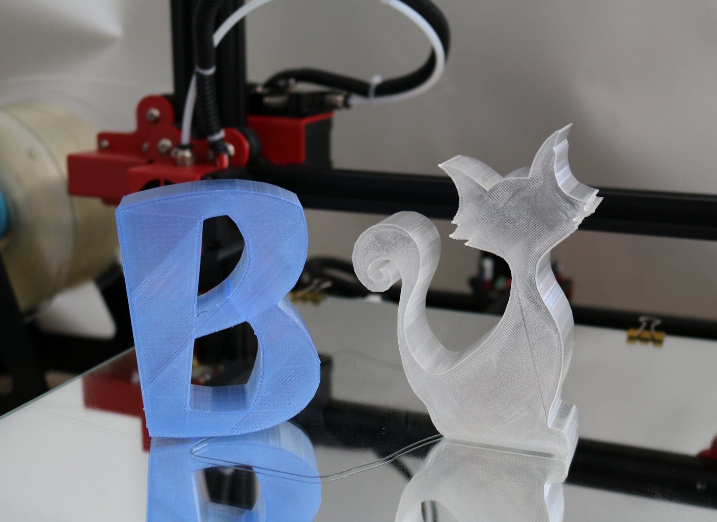 Easy 3D Printed Objects in One Hour