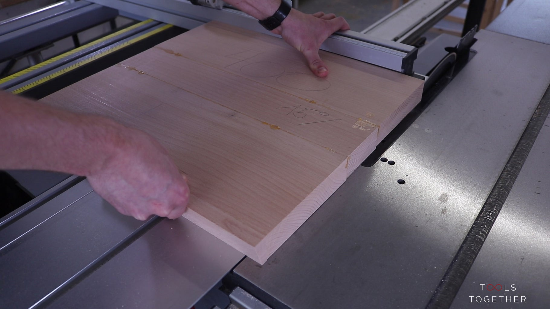Cutting the Bench Legs