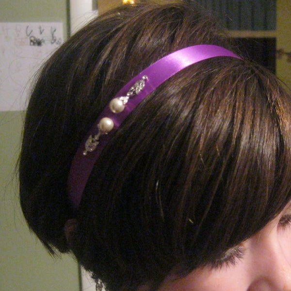 From Gaudy to Georgeous- Repurpose Jewelry Into Hair Accessories.