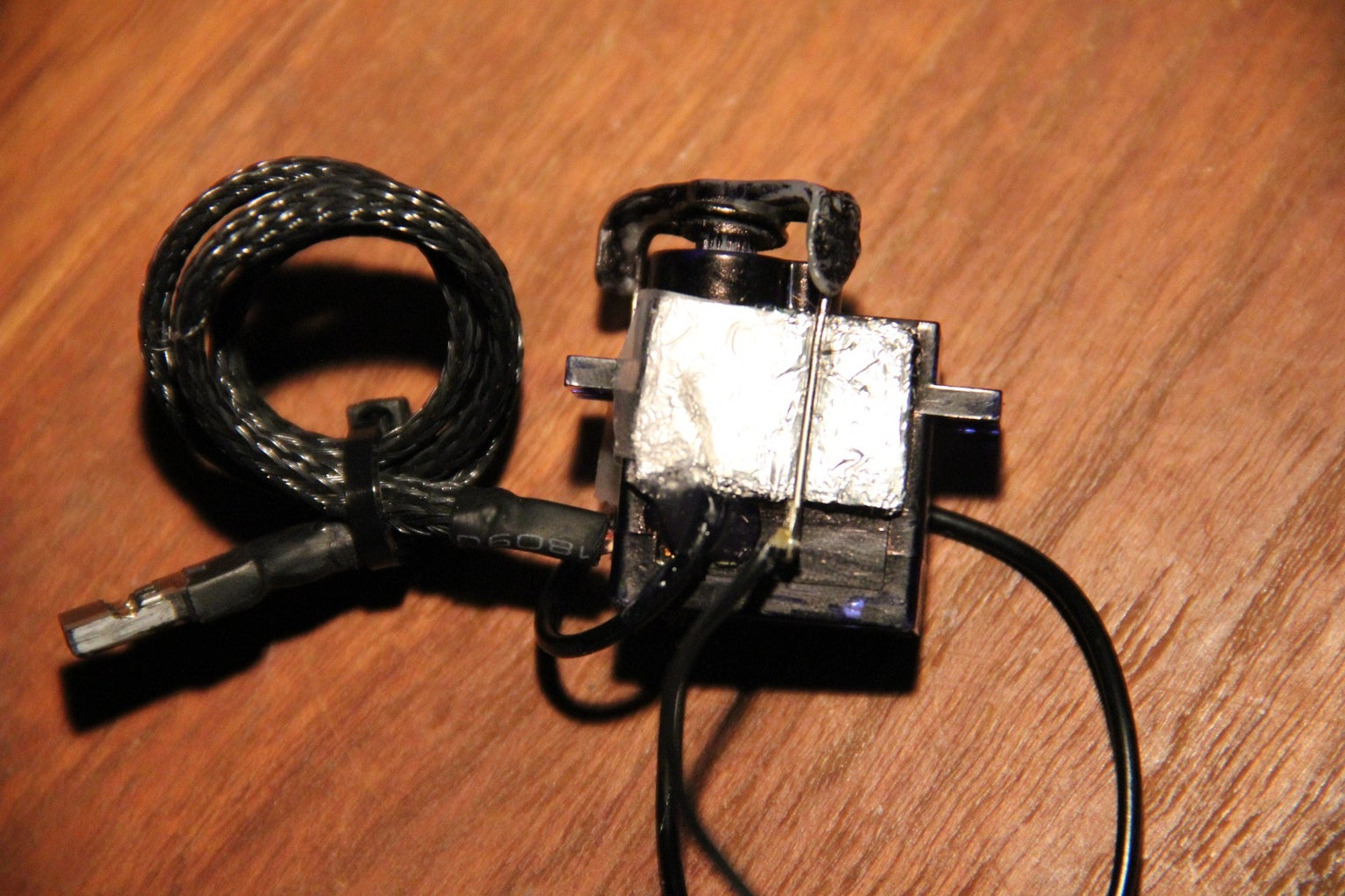 Preparing the Switch Servo Part 3