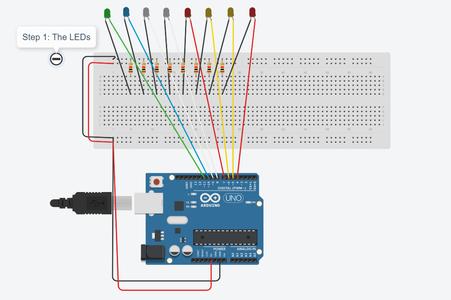 Step 3: LEDs Circuit