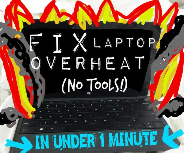 How to Fix Laptop Overheat in <1 Minute (NO TOOLS!)