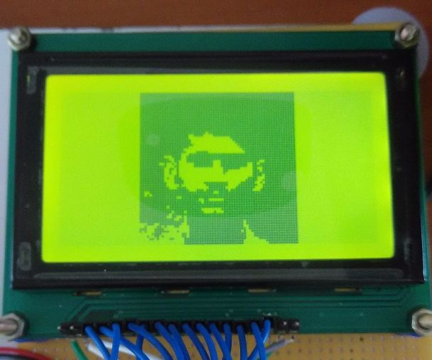 Interface GLCD with Arduino