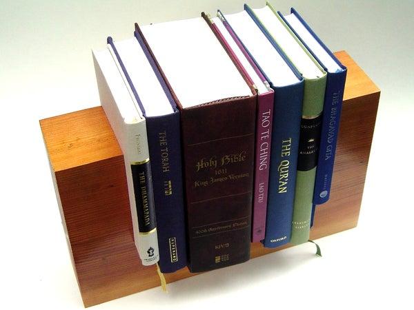 Spirit Level Bookstand