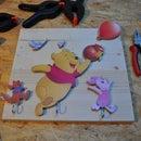 Winnie the Pooh Coat Hanger