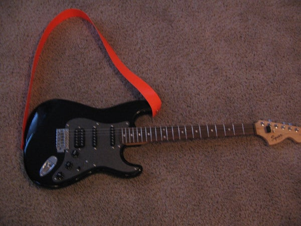 Duct Tape Guitar Strap
