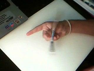 Pen Spinning:  Thumbaround