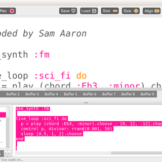 Intro to Sonic Pi and Playing Media