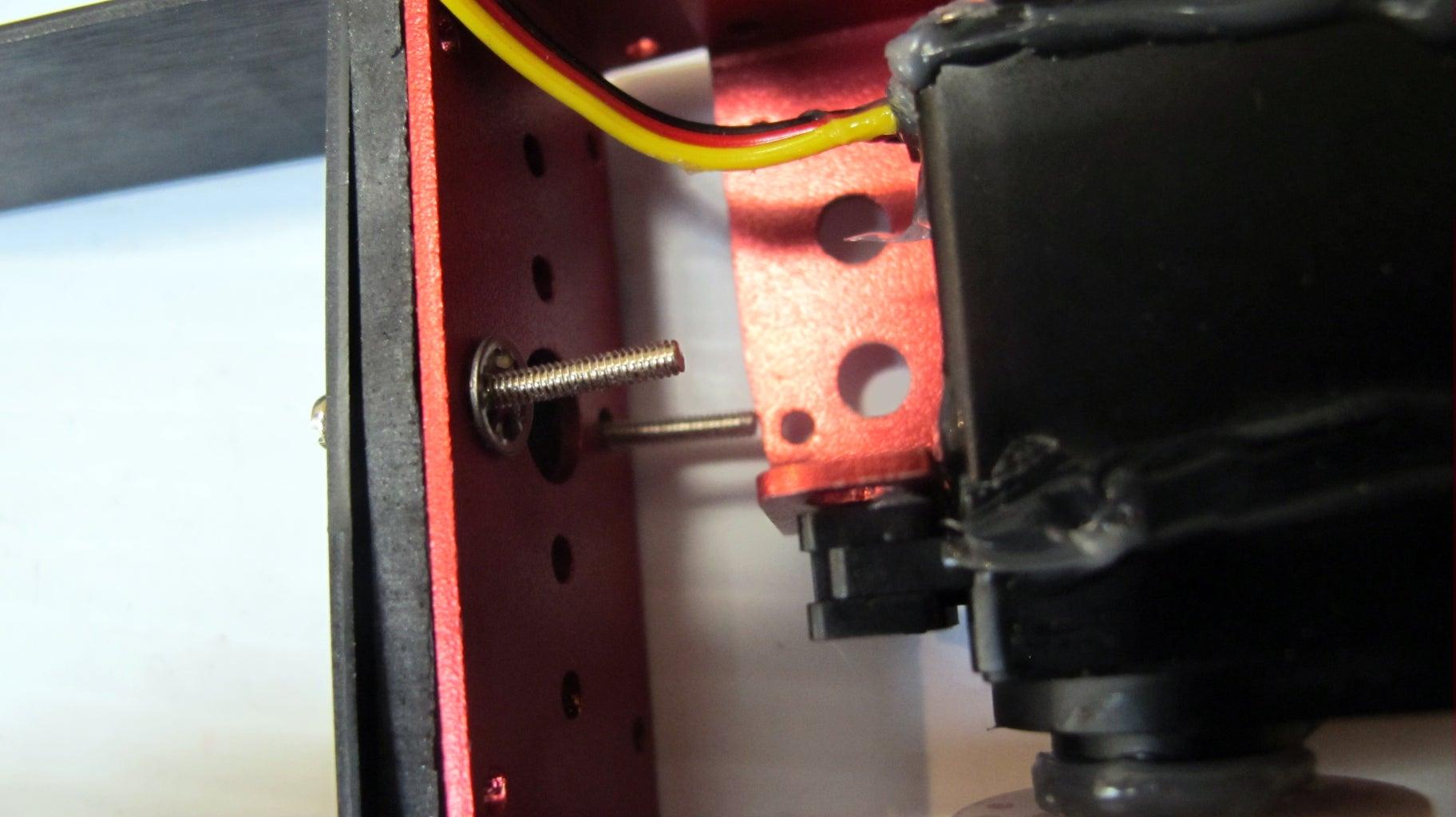 Prepare the Frame: Attach the C-brackets