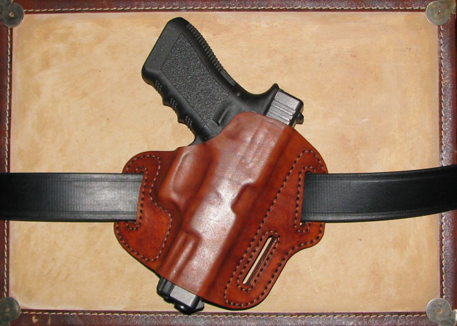 MAKE A LASER CUT LEATHER HOLSTER FOR YOUR PISTOL