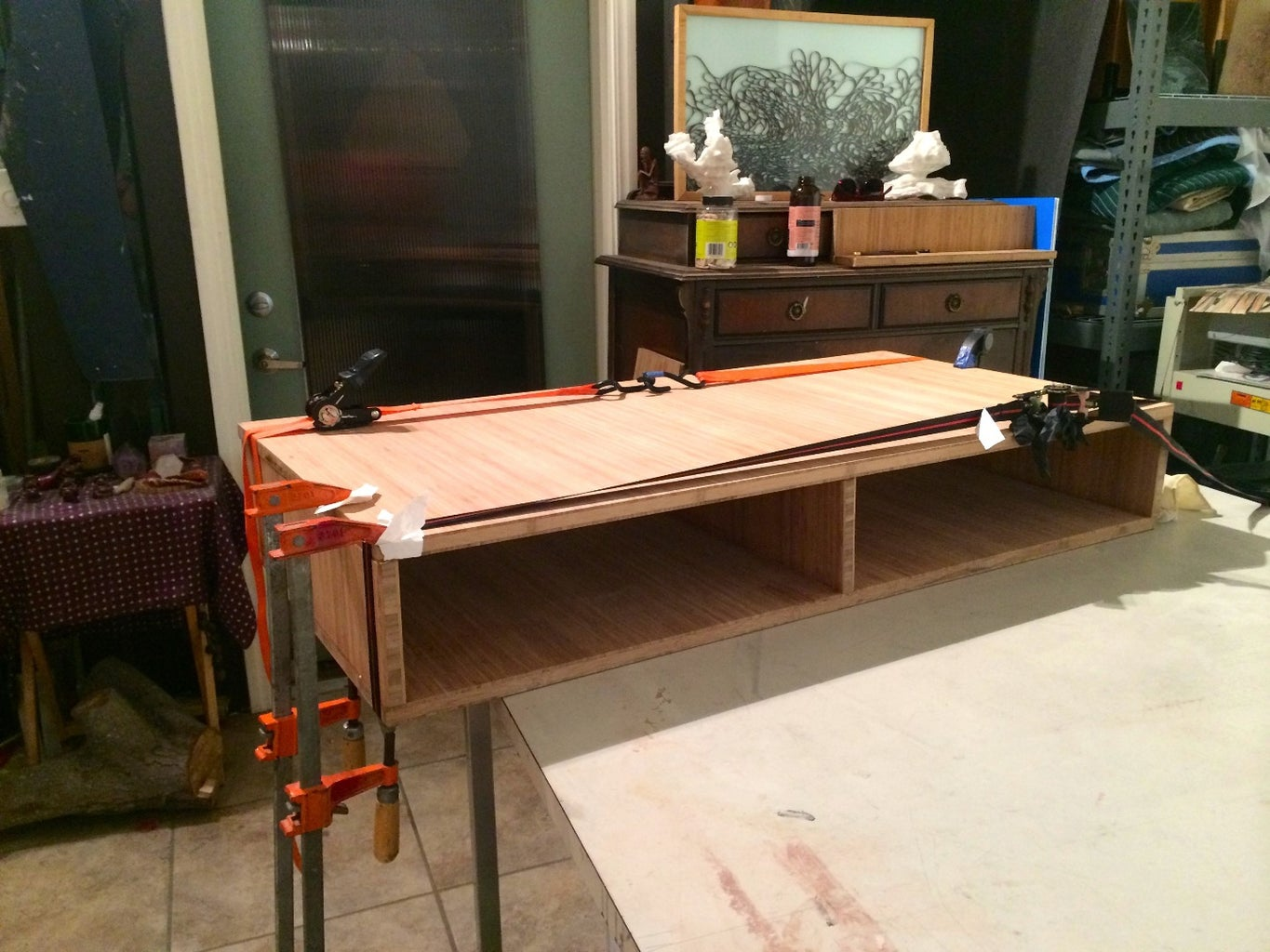 Dry Assembly, Glue and Clamping