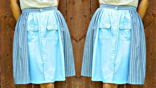 Men's Shirt Skirt