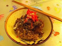 Gyudon Japanese Beef Rice