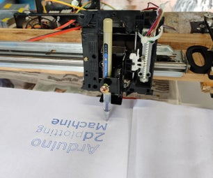 The Arduino CNC Drawing Machine | 2d Plotter | How to Make Arduino 2d Plotter Cnc Machine