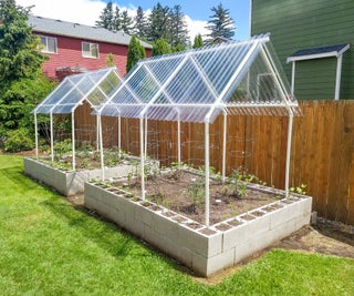 How I Built Durable Raised Garden Beds With Protective Canopies