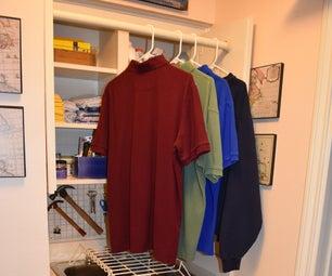 Simple Laundry Room Drying Racks