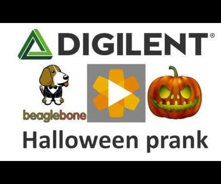 A great halloween prank using a BeagleBone Black and LabVIEW