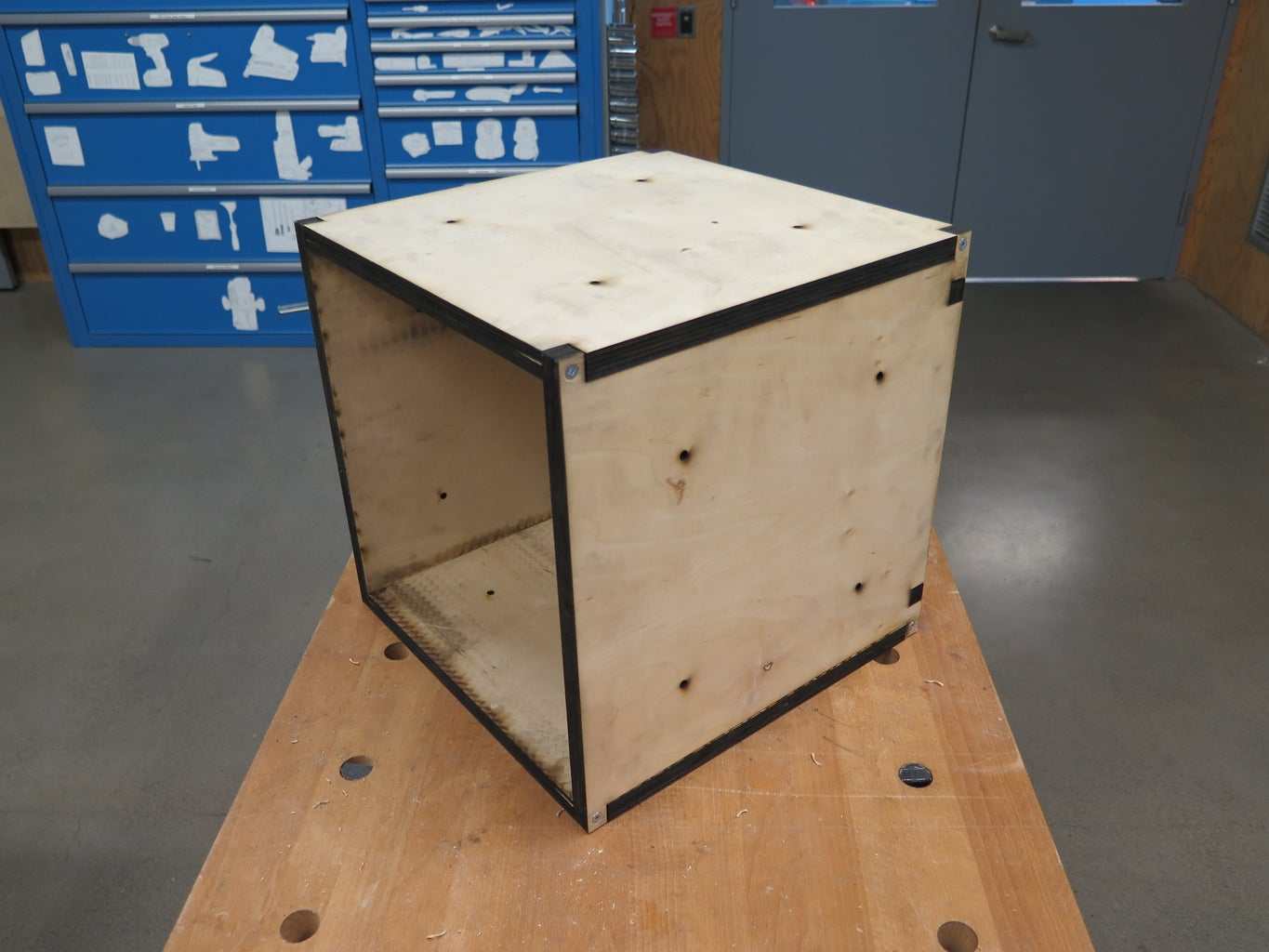 Assemble and Connect the Boxes