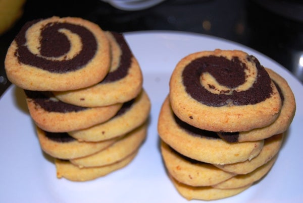 The Dual Color Cookies