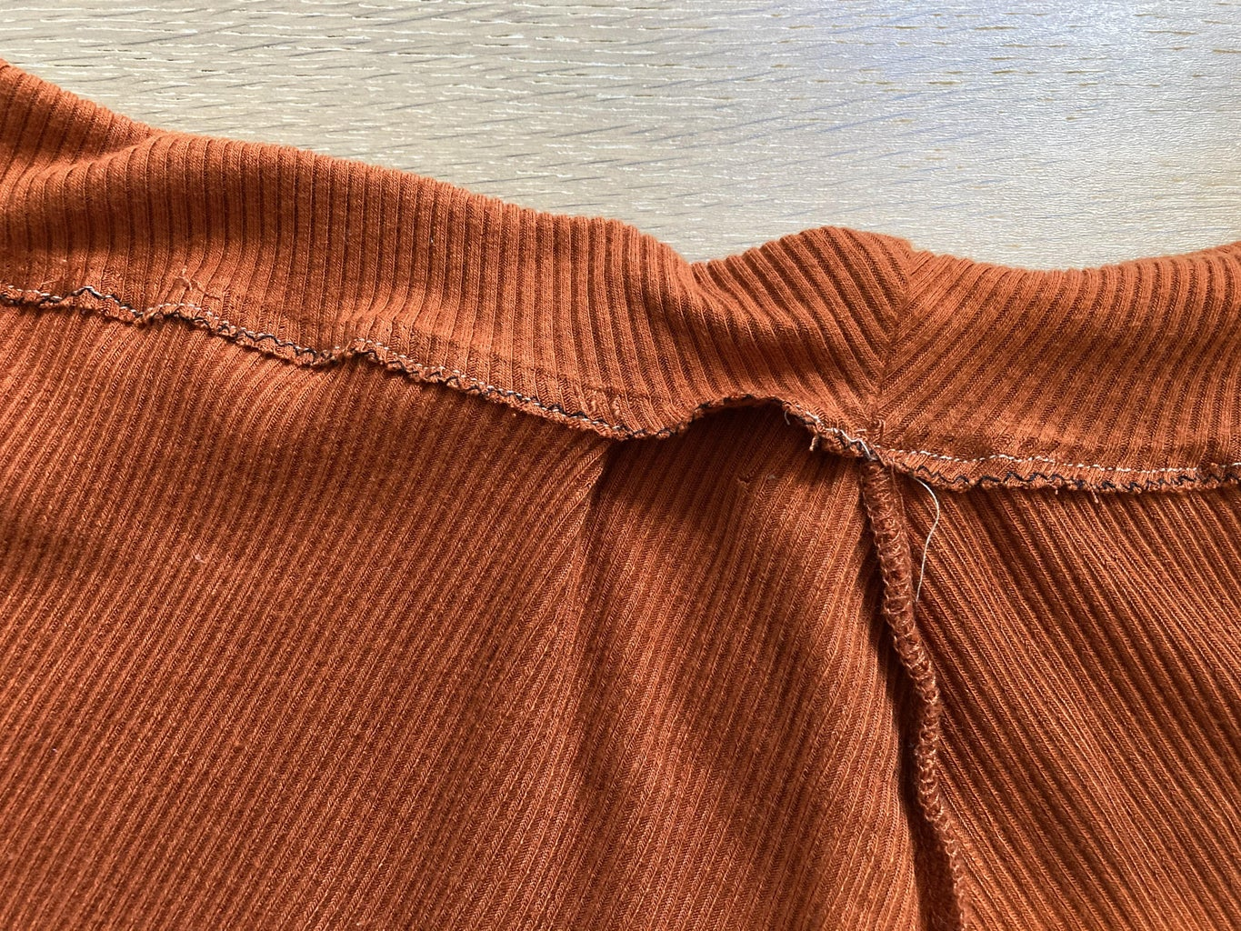 Sewing the Waist Band