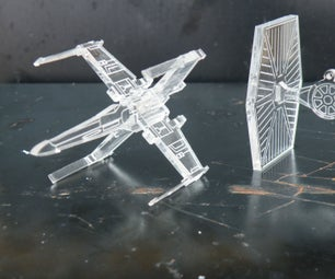 Build an X-Wing and Tie Fighter