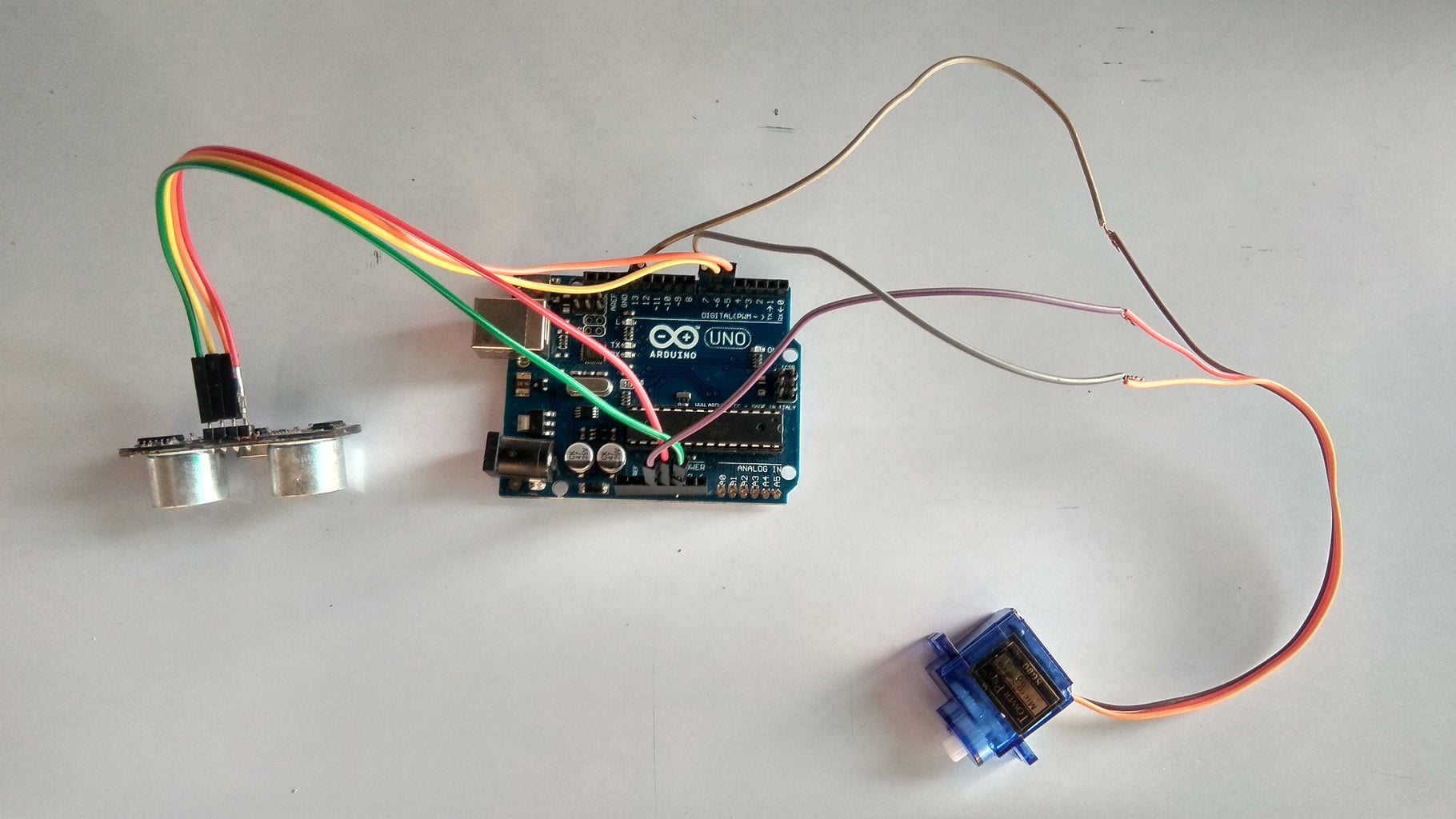 Arduino Connect to Servo Moter S9