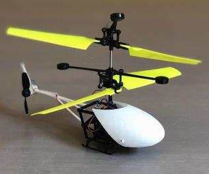 rc直升机在tinkercad制作