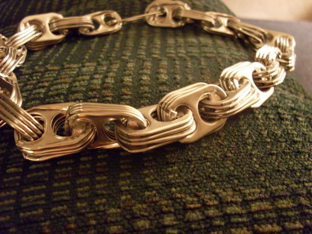 Soda Tab Chain Necklace