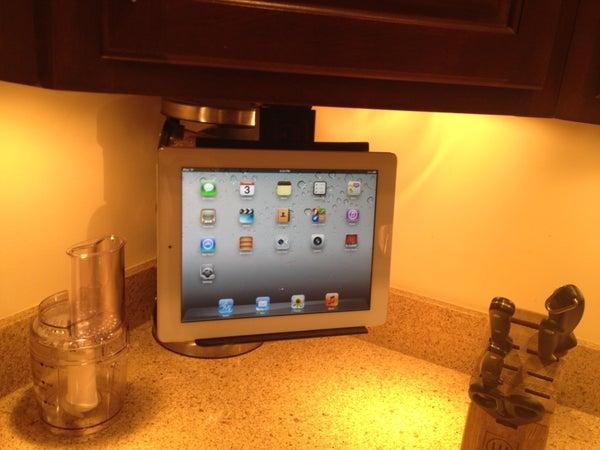 Under Cabinet IPad / Tablet Mount