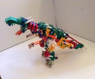 K'nex Dinobot Transformers Part 1: Grimlock and Strafe(Swoop)