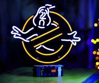 Ghostbusters Neon Sign Tutorial