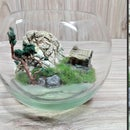 DIY Home Terrarium Diorama With Resin | Mini Realistic Landscape | Alone Tree Diorama