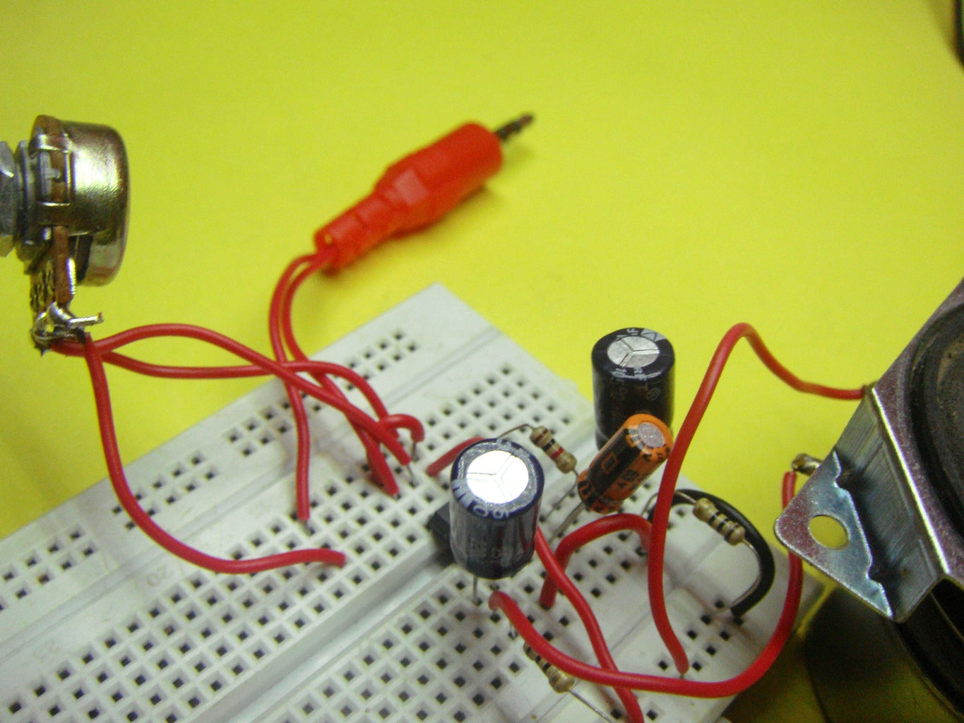 Prototyping the Amplifier Circuit