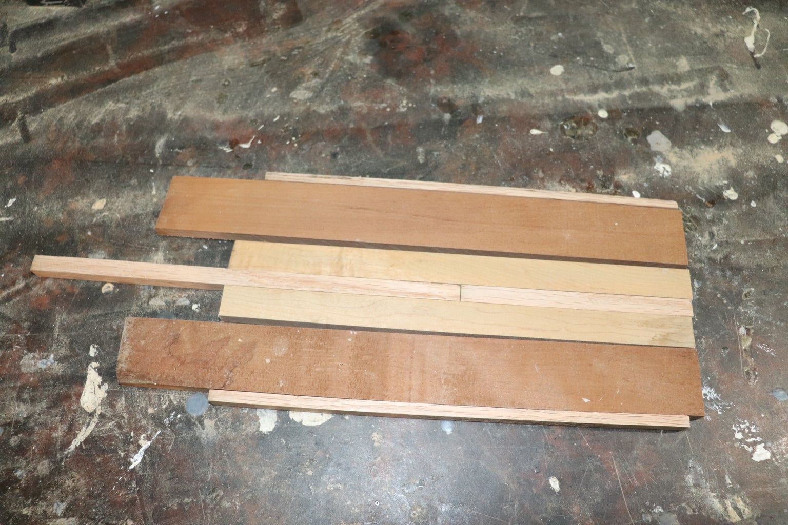 Cutting and Gluing the Stock