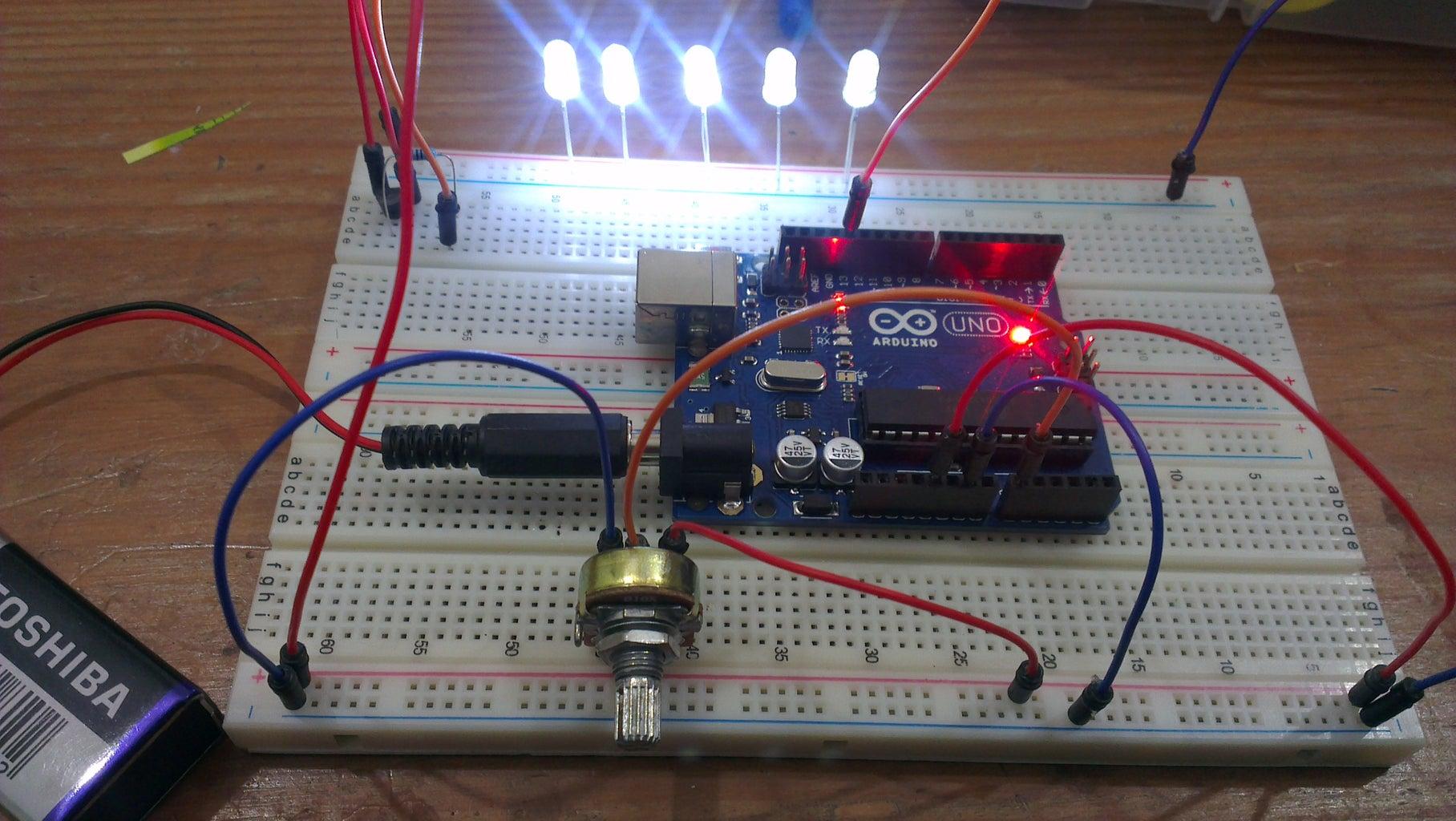 Arduino Strobe / Stroboscopic Lamp