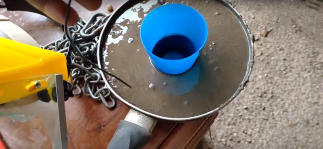 Use a Pan or Similar to Make a Cap