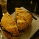 Bacon Cheese Burger for Six (AKA MONSTER BURGER)