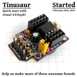 Getting Started With the Tinusaur Board