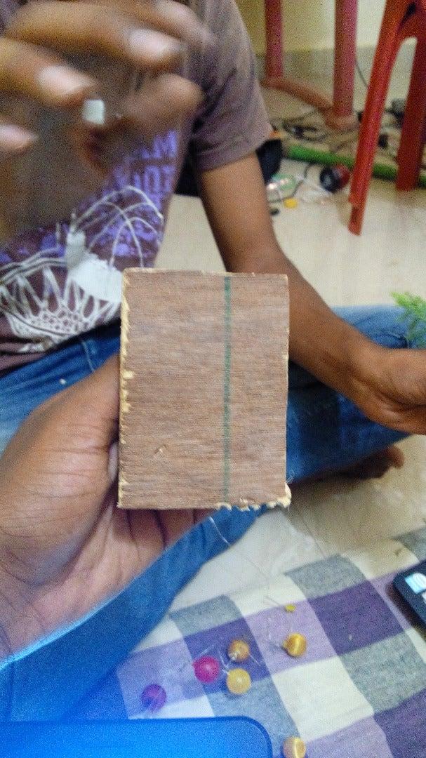 Stick the Wooden Piece