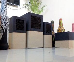 Home Theater Using Cardboard