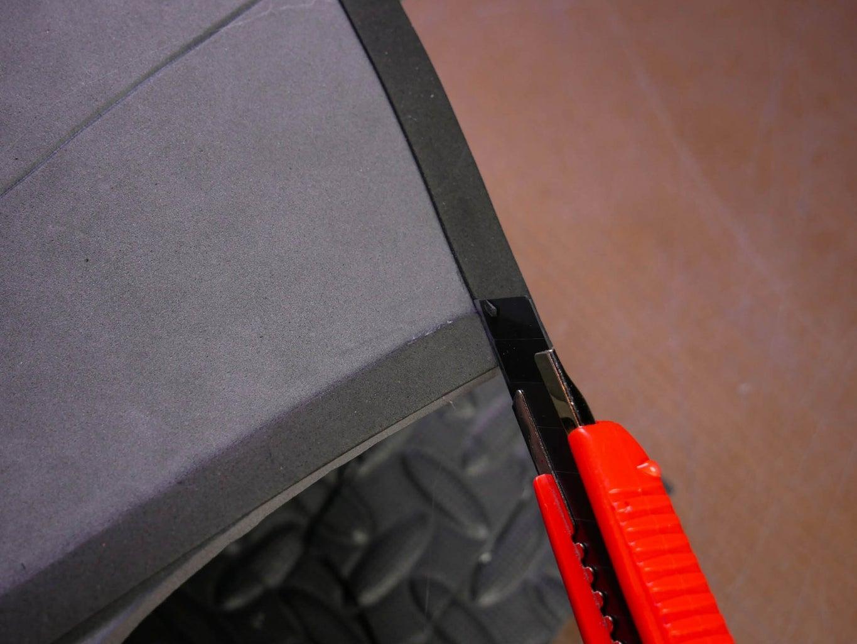 Glue the Strips Around the Edges