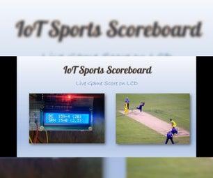 物联网体育记分牌