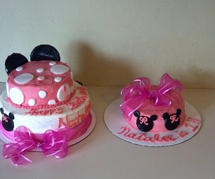 Easy Minnie Mouse Cake