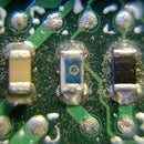 Close ups on electronics