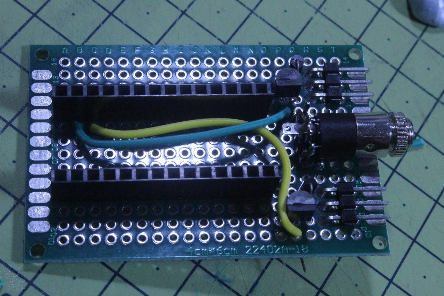 Adding Jumper Wires